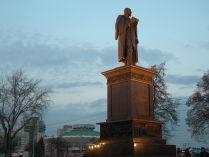 Кто премьер-министром работает, тот в цирке не смеётся. Памятник Столыпину в Челябинске, открыт 22.11.2017г.