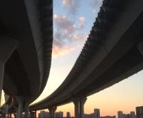 Дорога в город