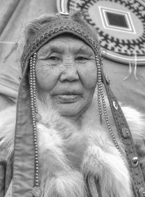 портрет эвенкийской женщины