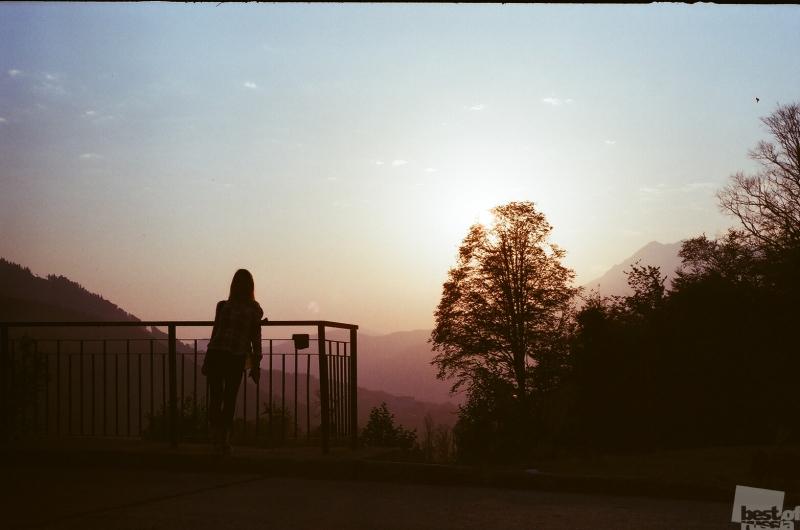 Закат на Зенит