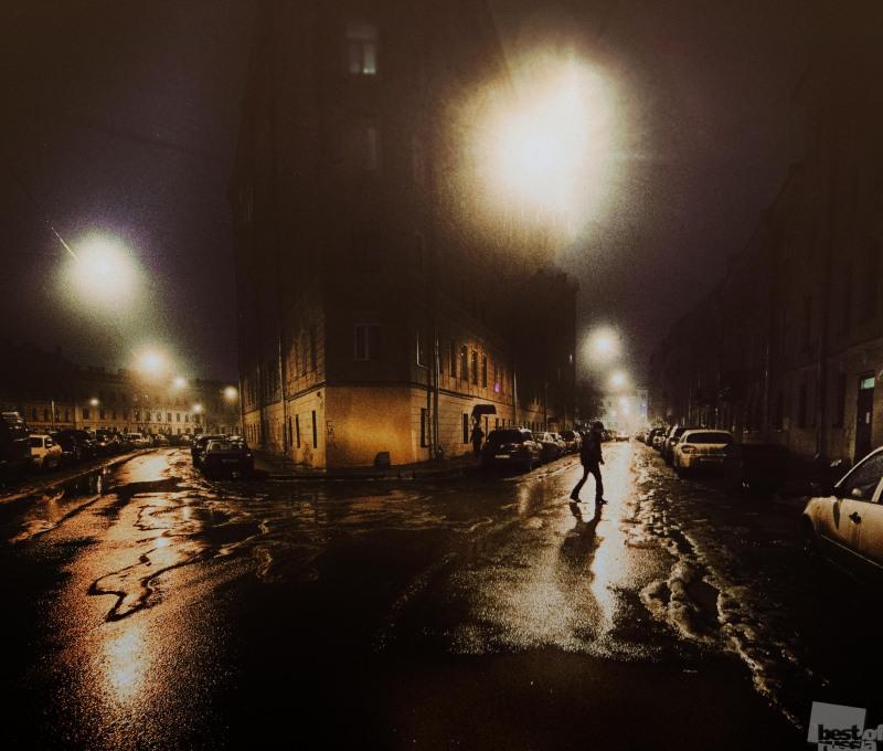 Рыбий жир Ленинградских ночных фонарей