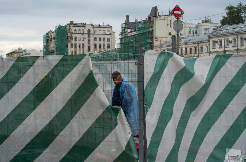 Стройки Москвы.