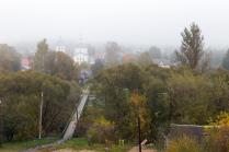 Туманное утро в Верее