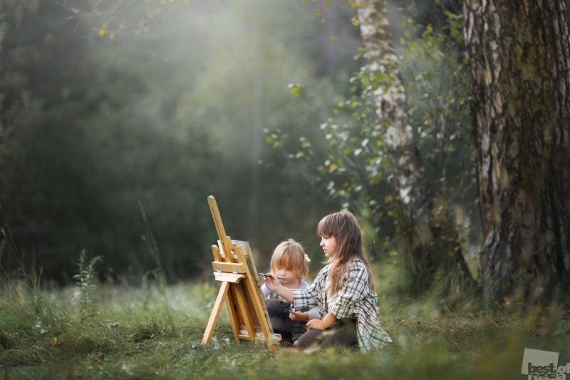 Маленькие художники