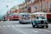 парад ретро автобусов по Невскому проспекту