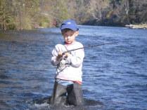 Первая настоящая рыбалка