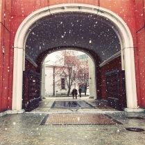 Зима в столице