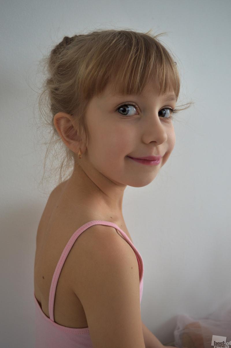 Портрет юной балерины