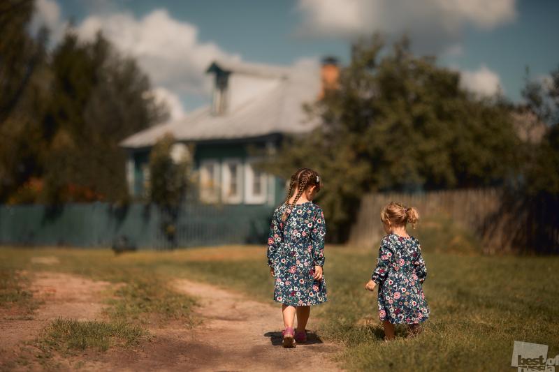 Детство в деревне