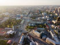 Народные гуляния на День города в Новосибирске