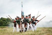 Реконструкция битвы под Фридландом