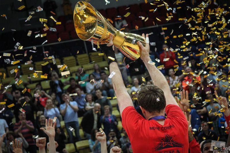 ЦСКА - Чемпион  чемпион Единой Лиги ВТБ