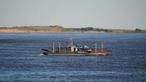 Volga. Ferryboat