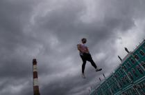 В небе Петербурга