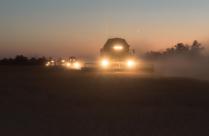 Ночь работе не помеха. Урожай зерна в 2017 году превысил рекорд СССР и стал самым большим за всю историю России укрепив возрождение страны как сельскохозяйственной сверхдержавы.