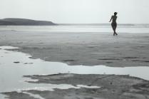 Утро на солёном озере