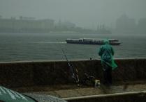 Дождь рыбалке не помеха
