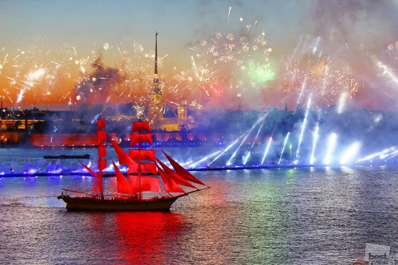 Санкт-Петербург. Алые Паруса-2017