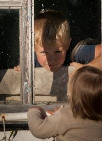 В окне и из окна