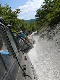 дорога на Мангуп-Кале