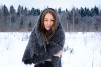 Blue-eyed winter