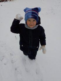 Лови снежок!!!