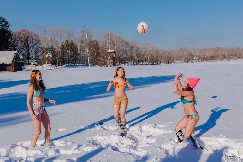 White beaches of Siberia
