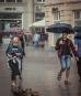 Теплый летний дождь