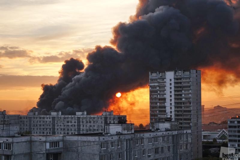 Пожар. 8 октября 2017