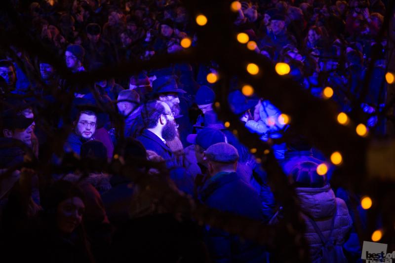 Празднование Хануки в Москве