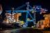 Огни Владивостокского морского торгового порта
