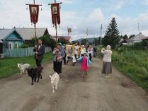 Сельский крестный ход