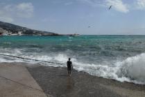 Summer storm in Yalta