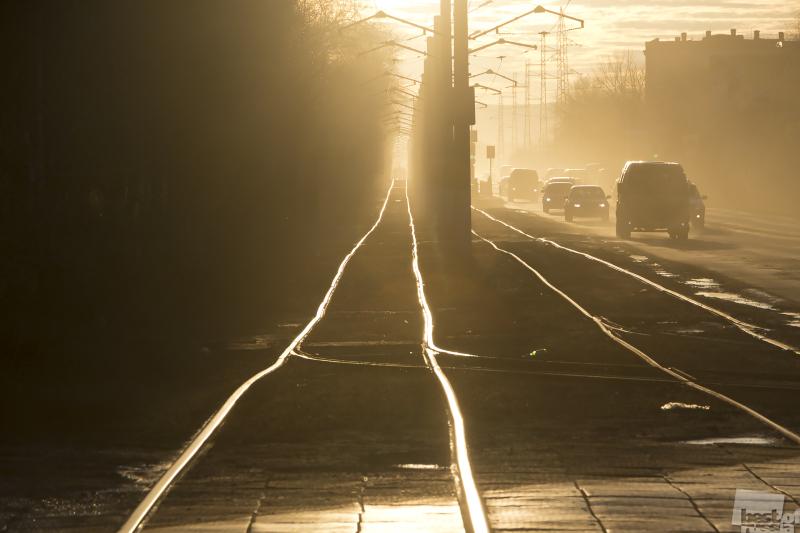 Утренний трамвай