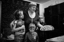 в гостях у прабабушки