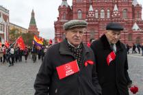 Коммунисты на Красной площади