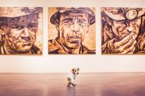 Вуди на выставке в Музее Современного Искусства