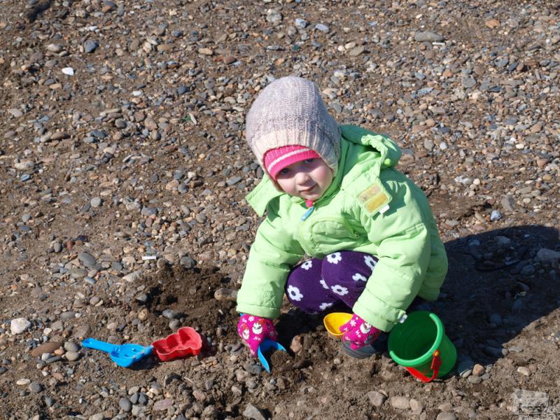 А глубже песок будет?