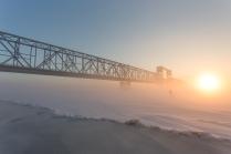 Туманный лыжник