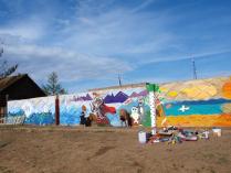 Сельское граффити
