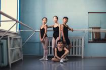 Юные артисты тувинского балета