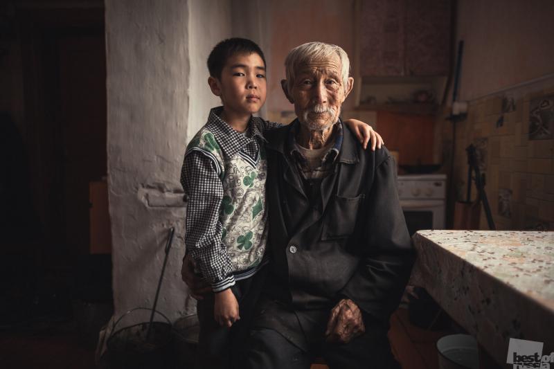 Амыр и дедушка Чамьян