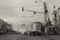 Перекресток у Церкви Иоанна Предтечи на улице Кирова
