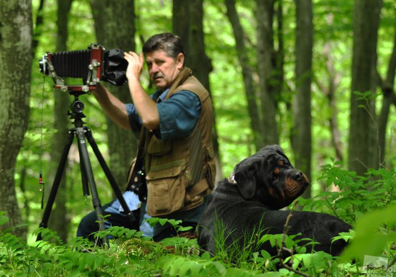 Фотограф и его собака