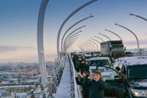 День открытия центрального участка ЗСД