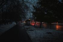 Вечер на окраине Москвы
