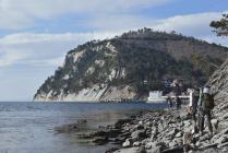 Пеший поход по берегу Чёрного моря