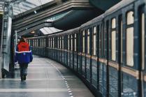 При выходе из поезда не забывайте свои вещи