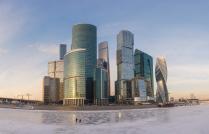 Рыбаки в Москва-Сити