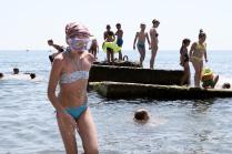 Каникулы на Черном море.